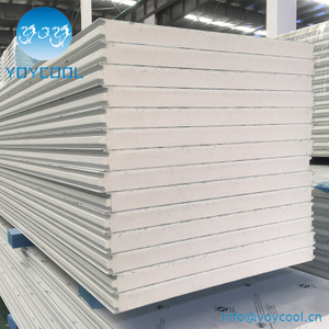 Cold Room PU Sandwich Panel With Plug Type